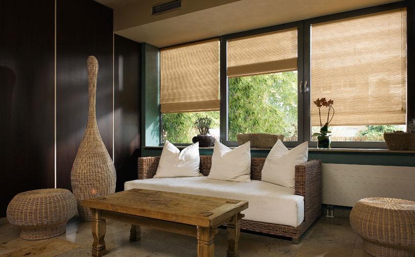 Cortinas Romanas bambu