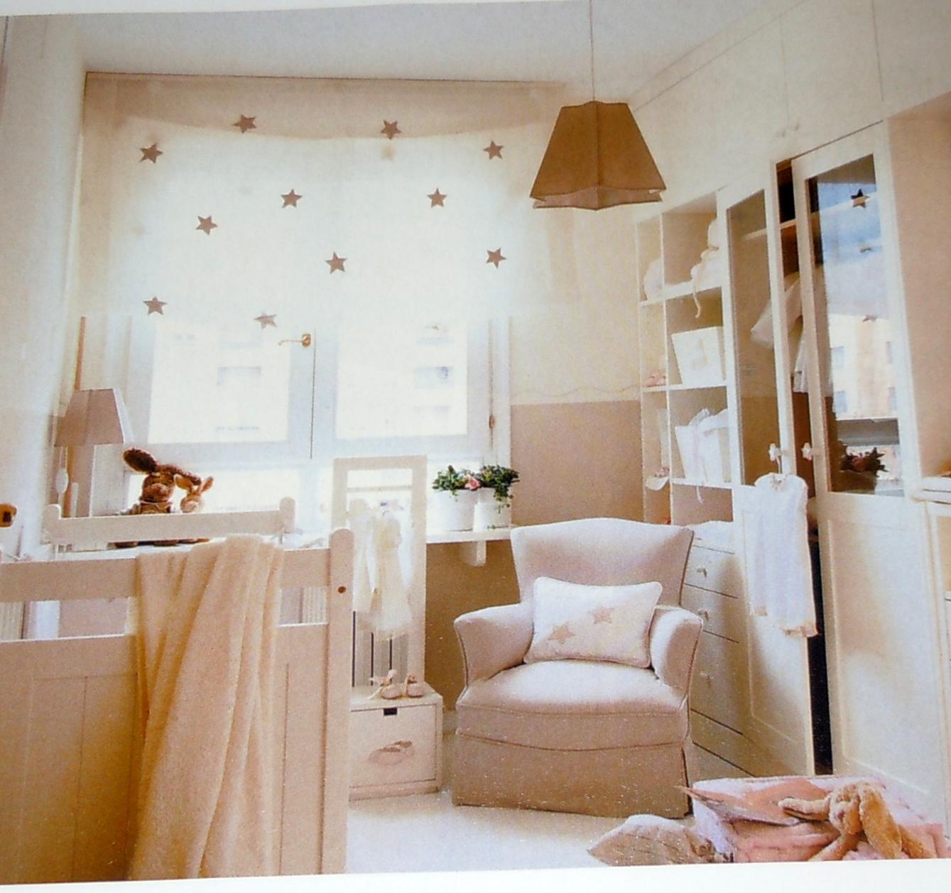 Cortinas romanas impresas para el cuarto de los m s peque os - Cortinas para habitacion de bebes ...